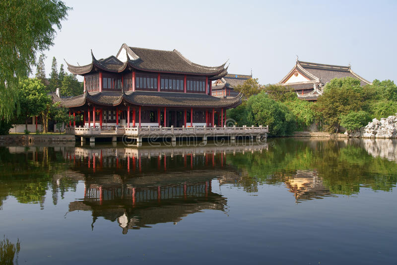 Ancient town Zhouzhuang royalty free stock image
