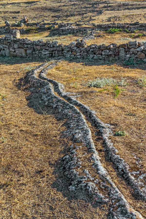 Download Ancient Trench For Thermal Water Stock Image - Image: 22952145