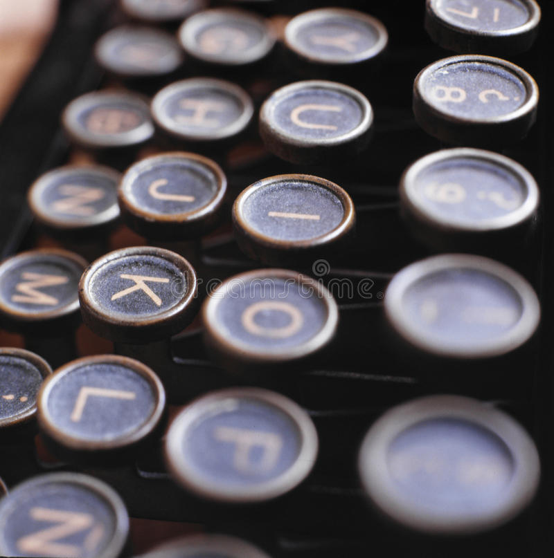 Download Ancient typewriter stock photo. Image of machines, light - 11021982