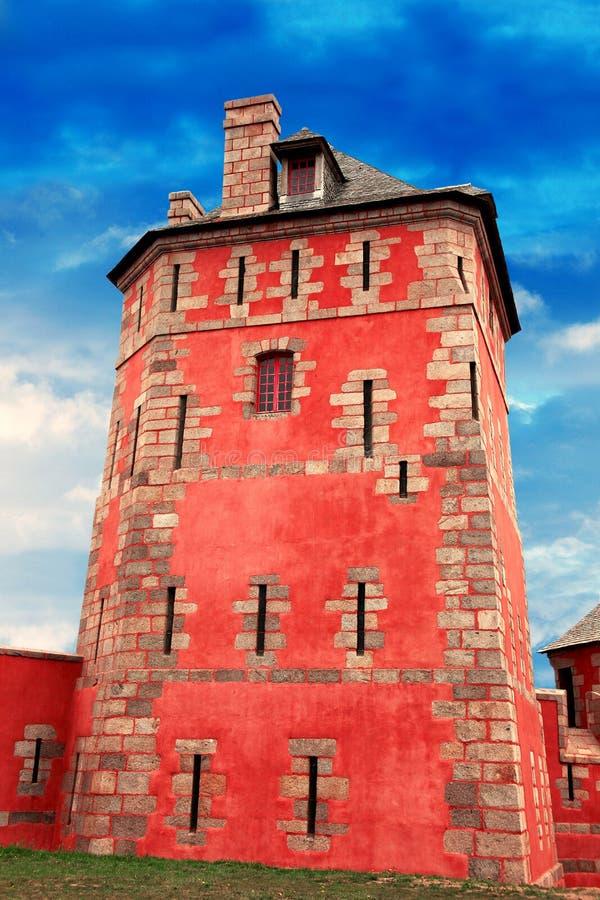 Ancient Vauban Tower in Camaret sur Mer. The Ancient Vauban Tower in Camaret sur Mer royalty free stock images