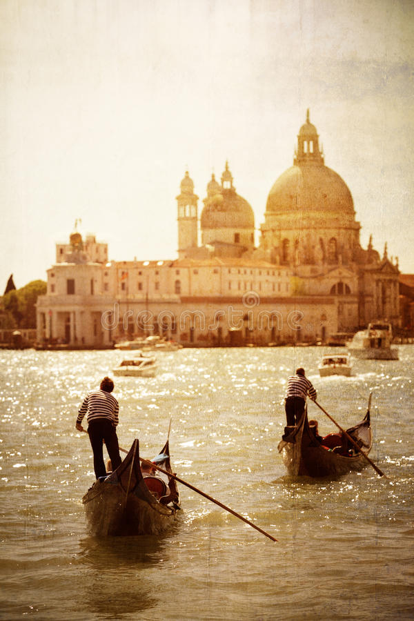 Ancient Venice stock images