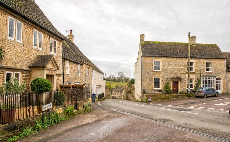 The ancient village of Sherston in the county of WiltshireThe ancient village of Sherston in the county of Wiltshire. The ancient village of Sherston in the stock photography