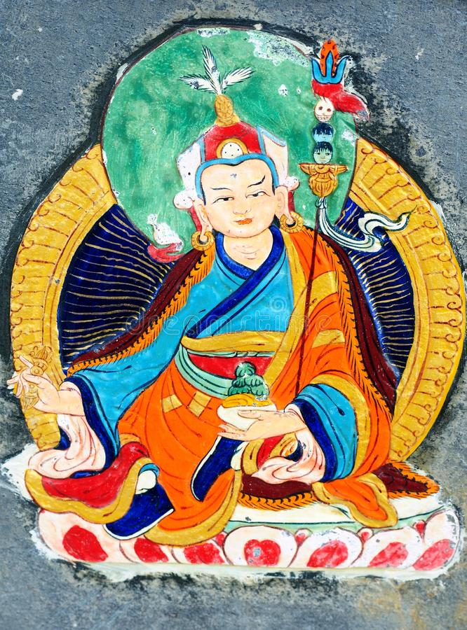 Free Ancient Wall Painting Art Of Buddha Stock Photos - 25523283