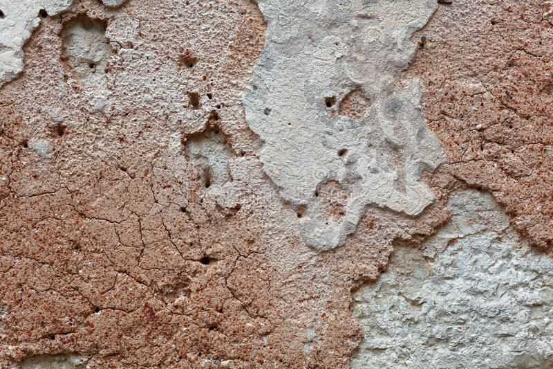 Ancient wall plaster royalty free stock image