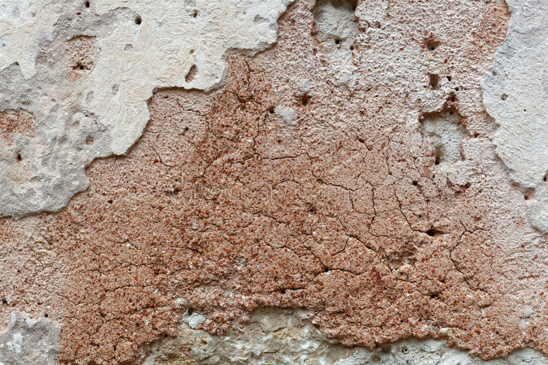 Ancient wall plaster stock photos