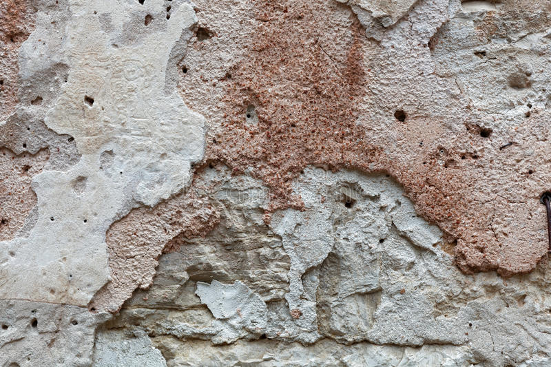 Ancient wall plaster stock images