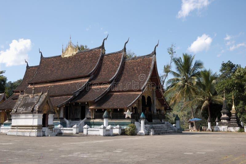Ancient Wat Xieng Thong, Laos royalty free stock image