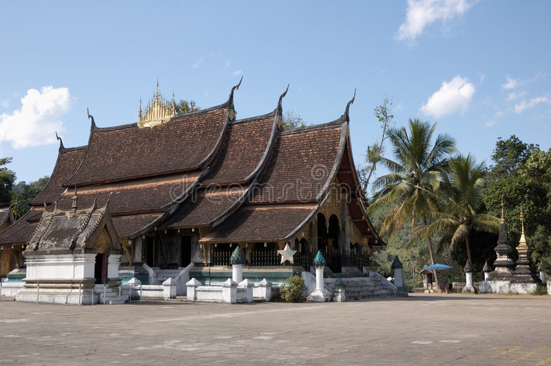 Download Ancient Wat Xieng Thong, Laos Royalty Free Stock Image - Image: 5491506