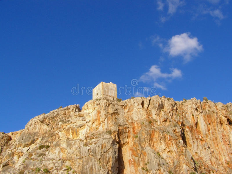 Download Ancient Watchtower Against Sky Stock Image - Image: 12585169