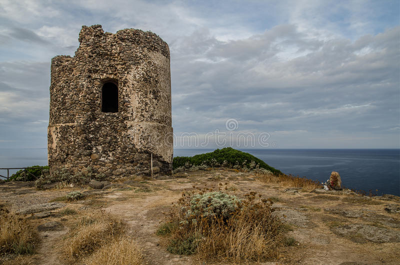 Download Ancient Watchtower Ruin, Sardinia, Italy Stock Image - Image: 34497341