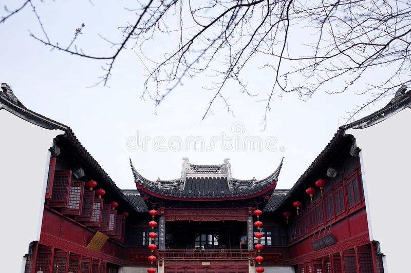 Ancient water towns-shantang suzhou royalty free stock photos