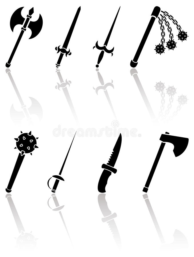 Ancient Weapon Stock Images