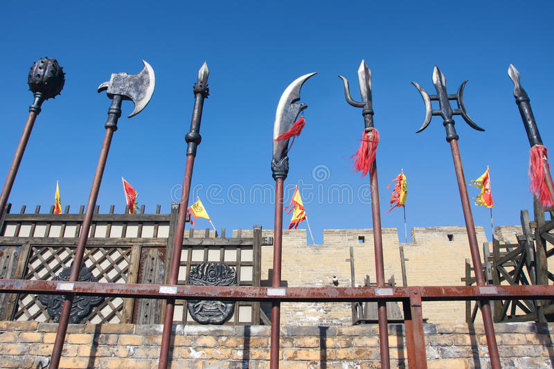 Download Ancient weapon stock photo. Image of arms, hammer, fighting - 46162040