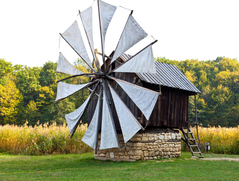 Download Ancient windmill replica stock image. Image of architecture - 21504583