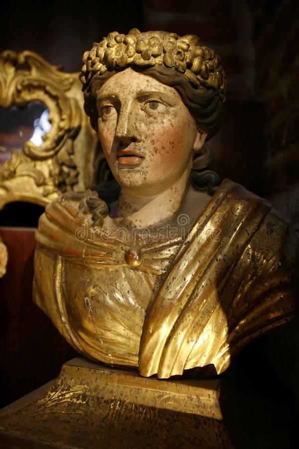 Download Ancient woman bust stock photo. Image of moulding, historical - 8479496