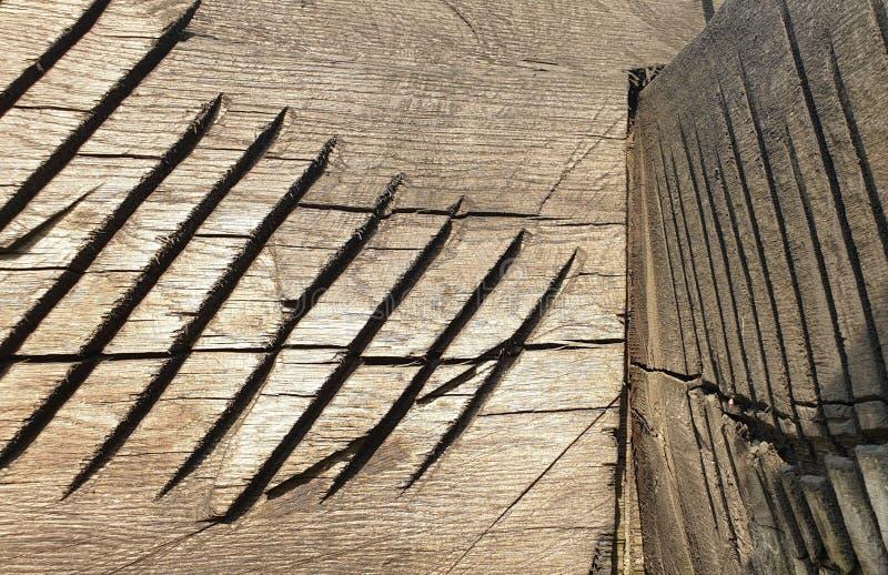 Ancient wood sculpture romania handcraft art stock images