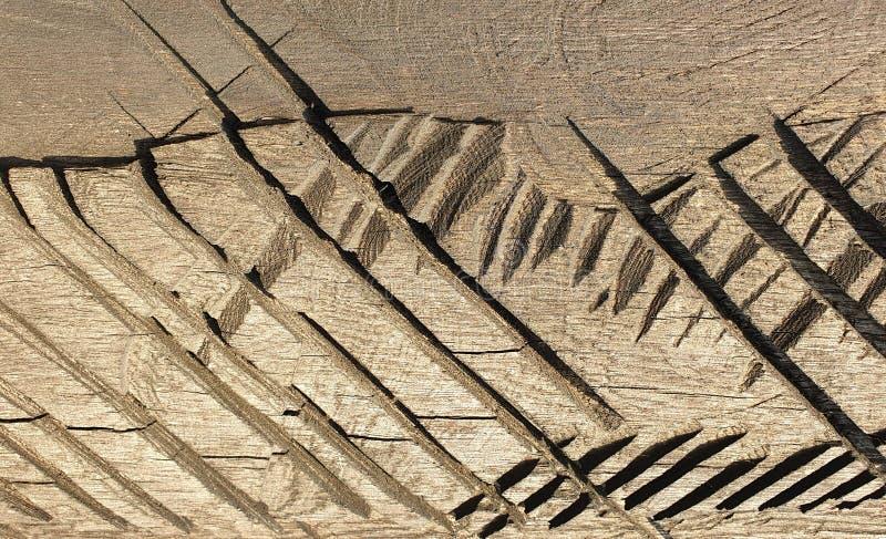 Ancient wood sculpture romania handcraft art stock photography