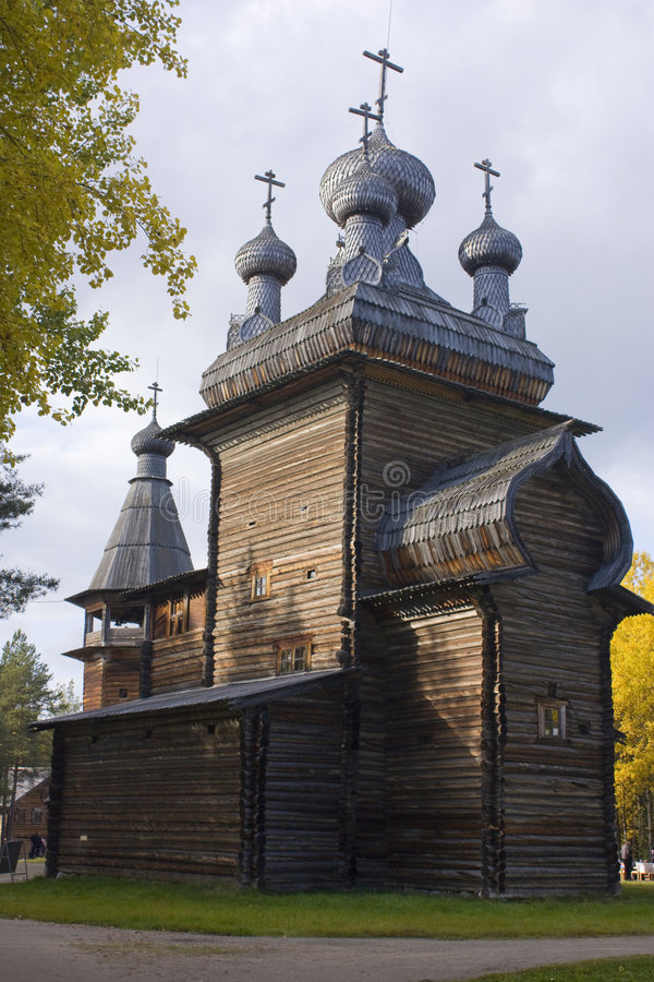 Free Ancient Wooden Church Royalty Free Stock Photography - 8475437