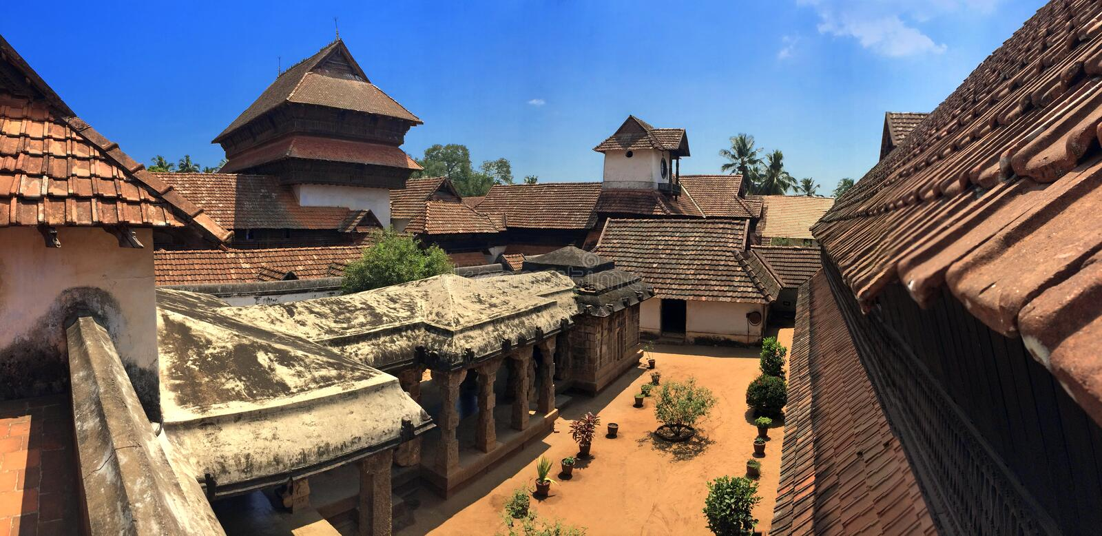 Download Ancient Wooden Palace Padmanabhapuram Of The Maharaja In Trivandrum Stock Photo - Image of building, style: 40768906