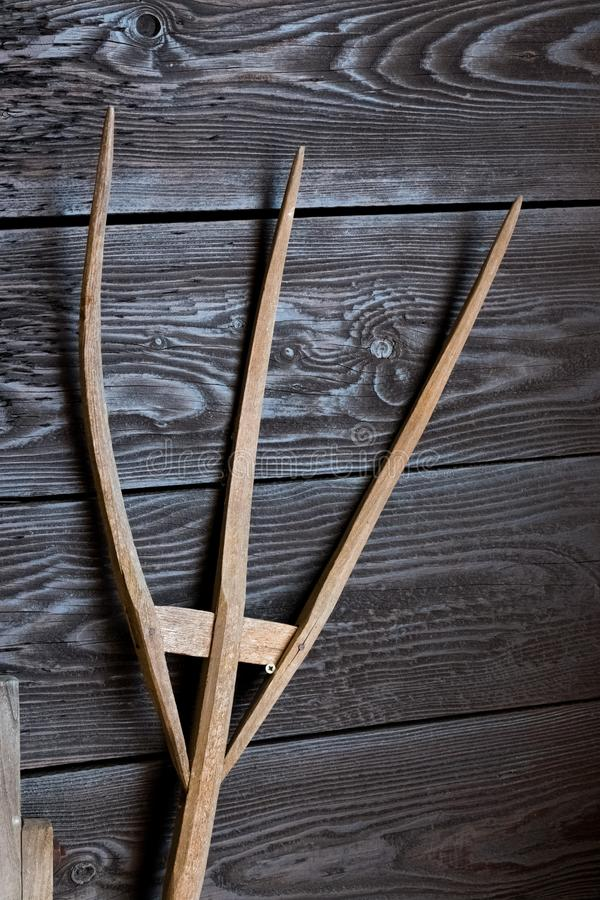 Ancient wooden pitchfork close up stock photo image of close farm download ancient wooden pitchfork close up stock photo image of close farm malvernweather Gallery
