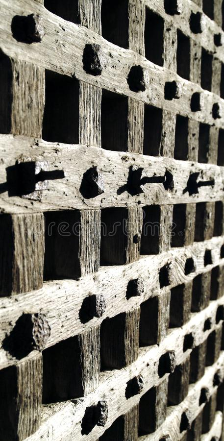 Ancient Woodwork Free Stock Photography