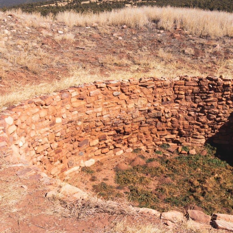 Ancients Kiva Near Pueblo, Nouveau Mexique photos libres de droits