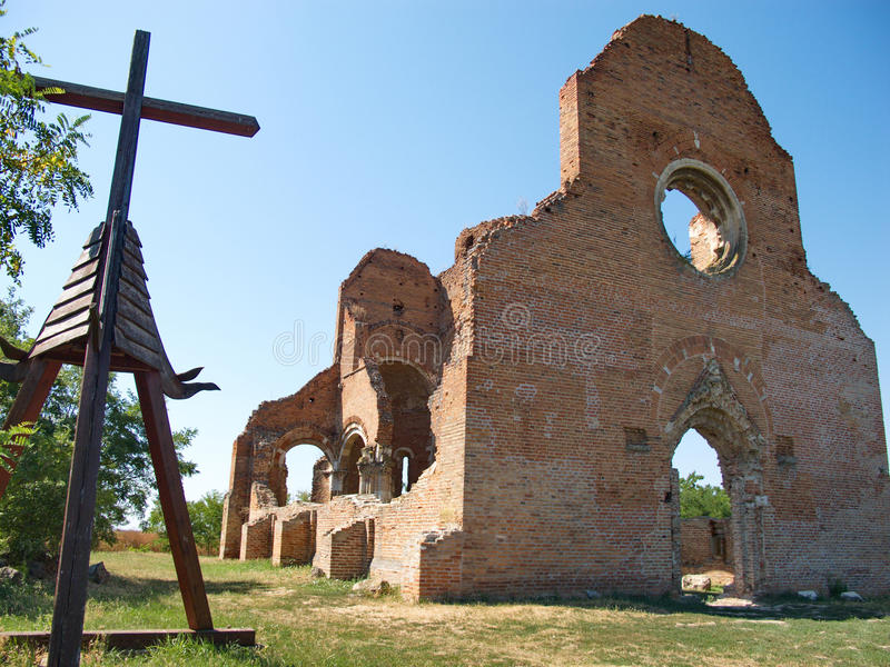Ancinet Benedictine monastery of Araca royalty free stock images