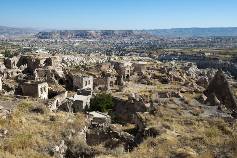 Ancinet Stone Village in Turkey, Middle East stock photography