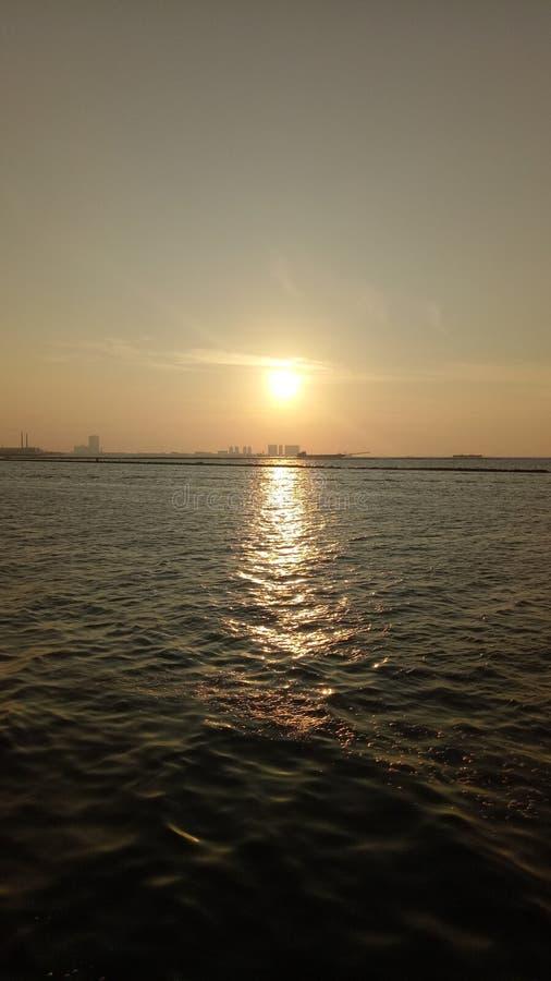 Ancol Beach Jakarta stock photos