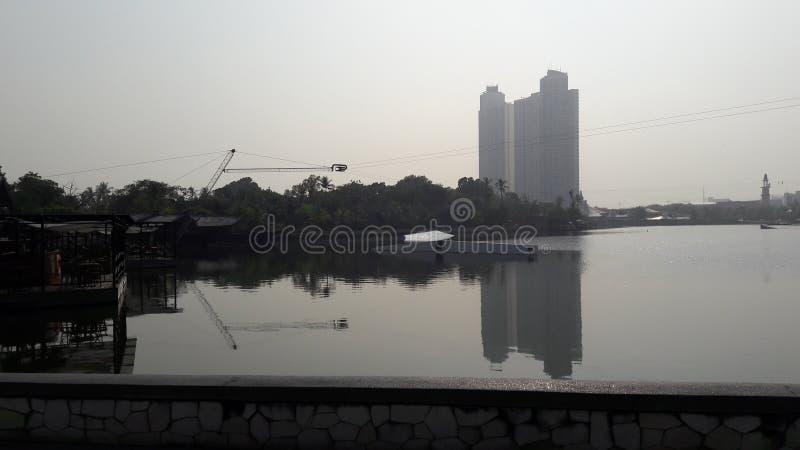 Ancol lake royalty free stock photography