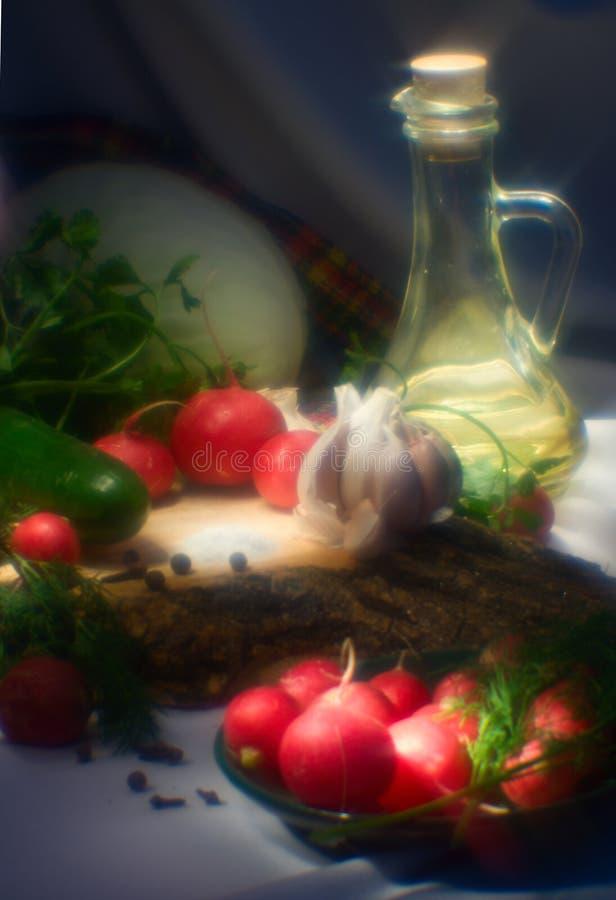 Ancora alimento del vegetariano di vita fotografie stock libere da diritti