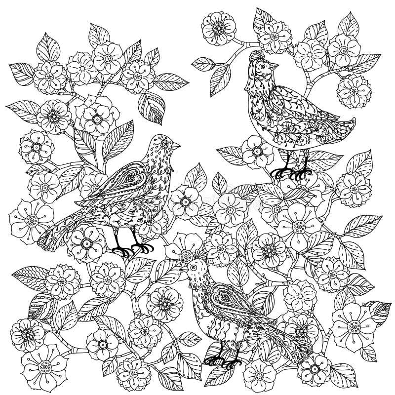 Ancora vita con i fiori royalty illustrazione gratis