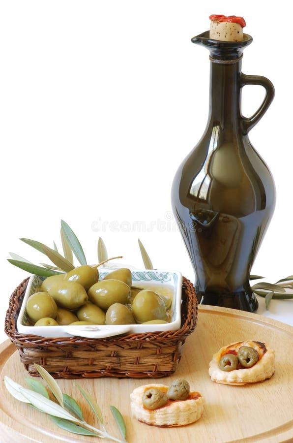 Ancora vita con le olive immagini stock libere da diritti