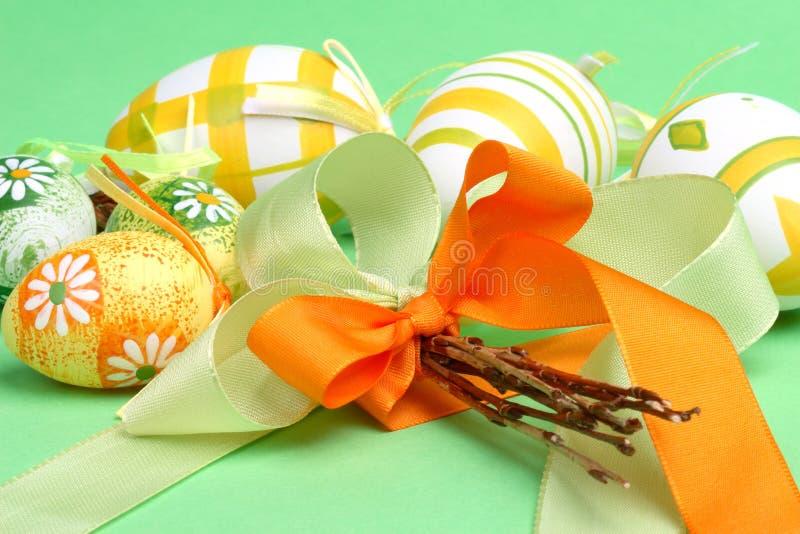 Ancora-vita di Pasqua con le uova immagini stock libere da diritti