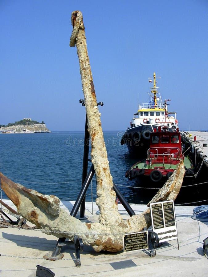 Download Ancoraggio turco immagine stock. Immagine di vecchio, tacchino - 220437