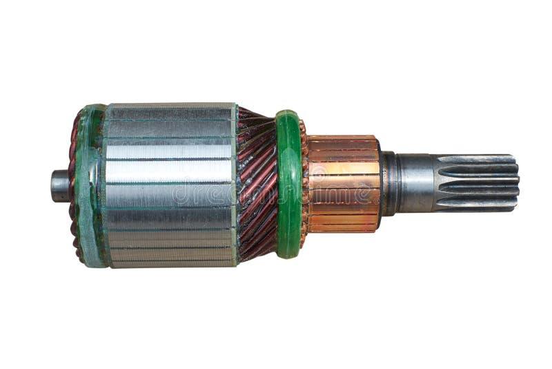 Ancre du moteur électrique image libre de droits