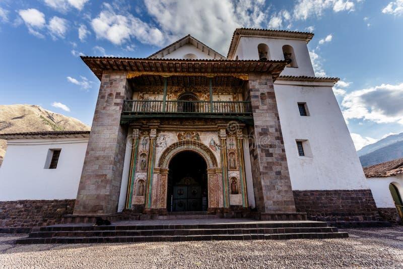 Andahuaylillas, chiesa barrocco religiosa, Perù immagine stock libera da diritti