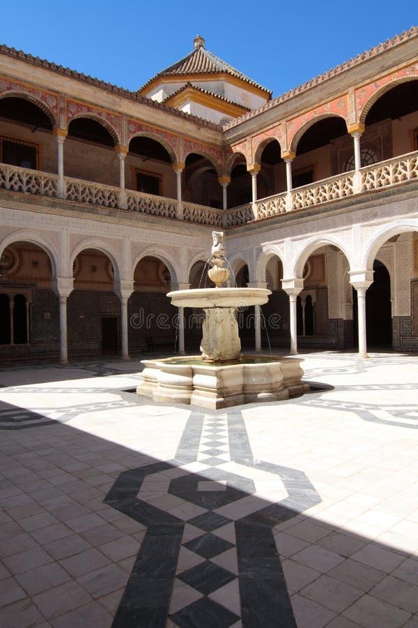 Andalousian Palace stock photo