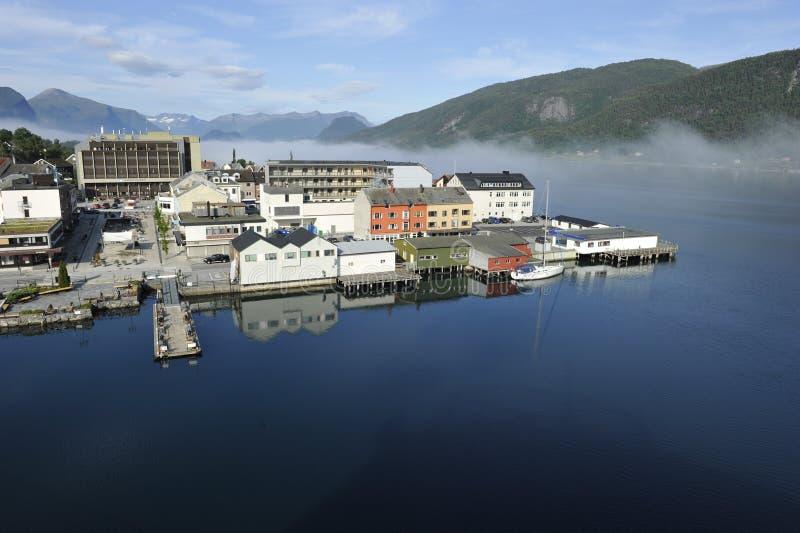 Andalsnes, Norvège photographie stock libre de droits