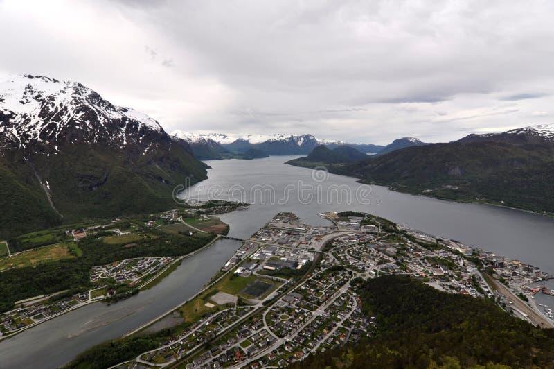Andalsnes, Norvège photo libre de droits