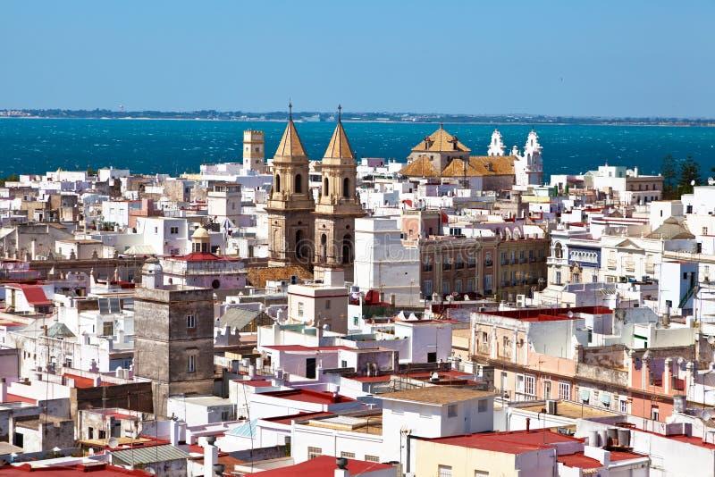 andalucia卡迪士西班牙 免版税库存图片