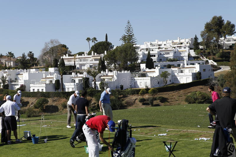andalucia高尔夫球marbella开放西班牙 图库摄影