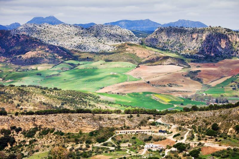 Andalucia Platteland stock fotografie