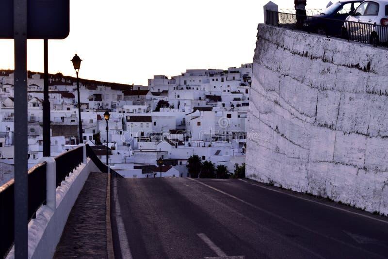 Andalusà blanco del pueblo fotos de archivo