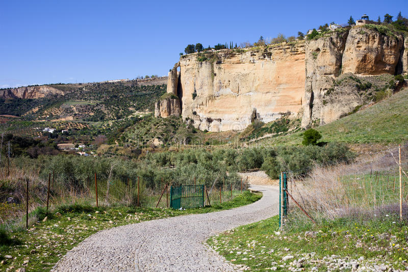 Download Andalusia Countryside stock image. Image of escarpment - 25609423