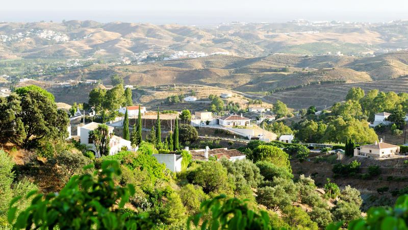 andalusia krajobraz obraz royalty free