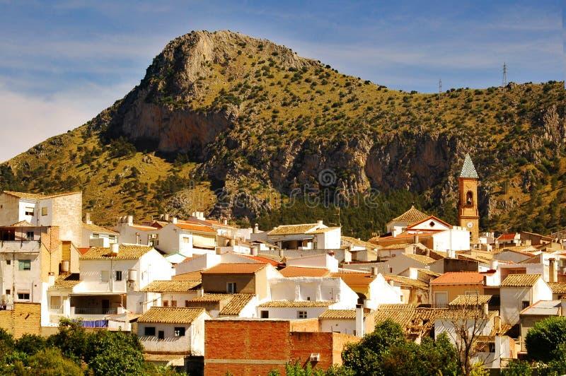 andalusia miasteczko zdjęcie royalty free