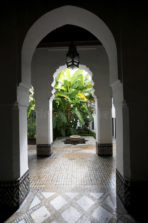 Free Andalusian Garden Of Dar Jamai Museum Royalty Free Stock Photo - 9861645