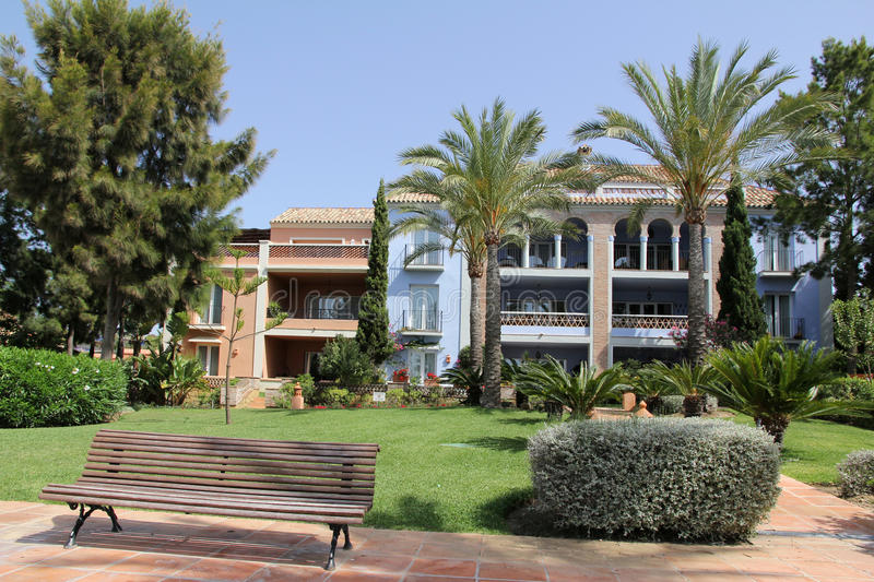 Andalusian house stock photo
