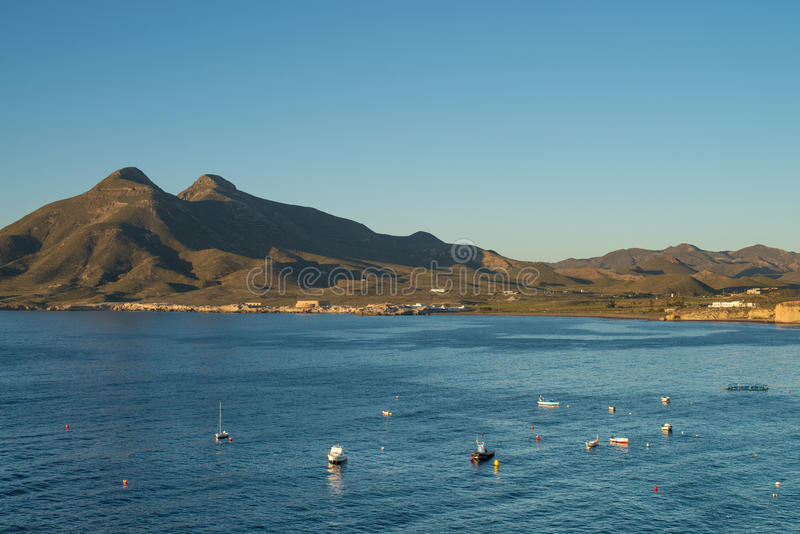Andalusian shores stock image